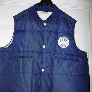 Vintage 1970's Baltimore Colts Winter Vest Size XL